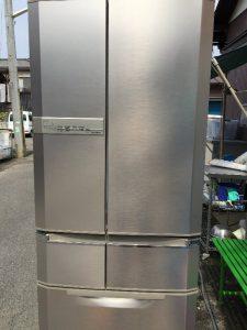 冷蔵庫買い取りました。